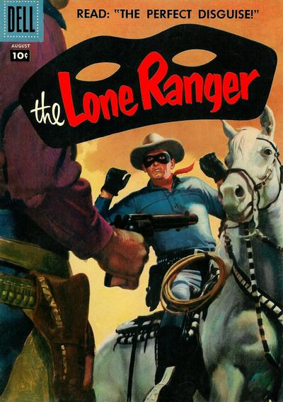 Cover for The Lone Ranger (Dell, 1948 series) #110