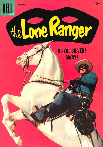 Cover for The Lone Ranger (Dell, 1948 series) #112 [10¢ edition]