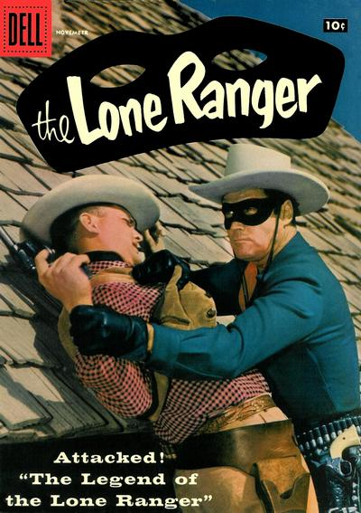 Cover for The Lone Ranger (Dell, 1948 series) #113