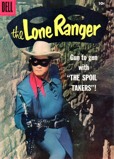 Cover for The Lone Ranger (Dell, 1948 series) #115