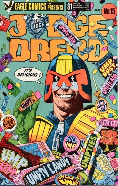 Cover for Judge Dredd (Eagle Comics, 1983 series) #15