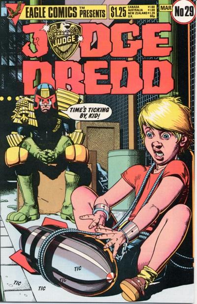 Cover for Judge Dredd (Eagle Comics, 1983 series) #29