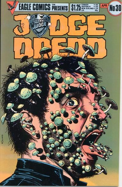Cover for Judge Dredd (Eagle Comics, 1983 series) #30