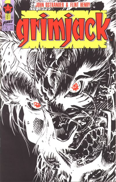 Cover for Grimjack (First, 1984 series) #81