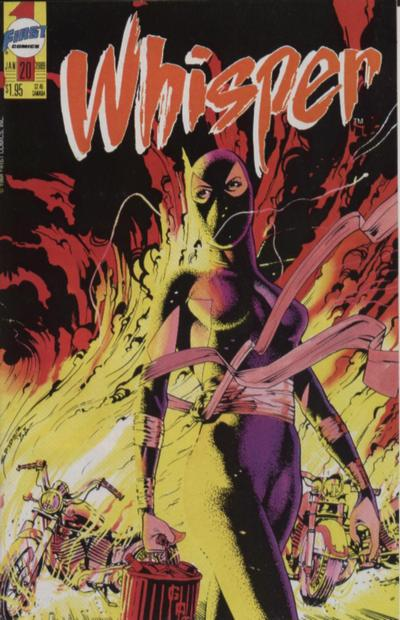 Cover for Whisper (First, 1986 series) #20