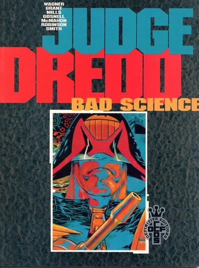 Cover for Judge Dredd: Bad Science (Fleetway Publications, 1990 series) #[nn]