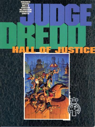 Cover for Judge Dredd: Hall of Justice (Fleetway Publications, 1991 series) #[nn]