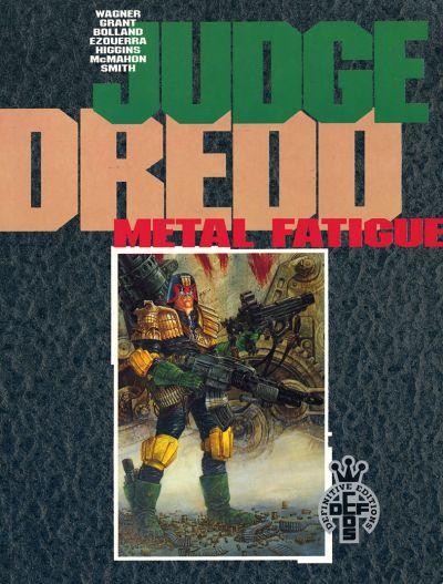 Cover for Judge Dredd: Metal Fatigue (Fleetway Publications, 1991 series) #[nn]