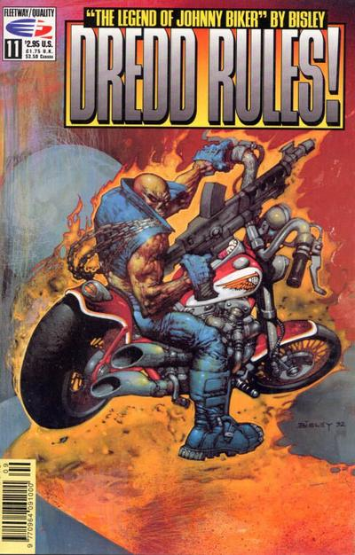 Cover for Dredd Rules! (Fleetway/Quality, 1991 series) #11