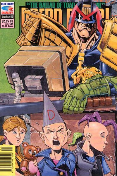 Cover for Dredd Rules! (Fleetway/Quality, 1991 series) #13