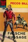 Cover for Taschencomics (BSV - Williams, 1966 series) #3 - Pecos Bill - Falsche Aussage