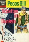 Cover for Taschencomics (BSV - Williams, 1966 series) #16 - Pecos Bill - Schatten im Dunkeln