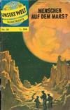 Cover for Unsere Welt Illustrierte (BSV - Williams, 1962 series) #30