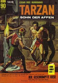 Cover Thumbnail for Tarzan (BSV - Williams, 1965 series) #55