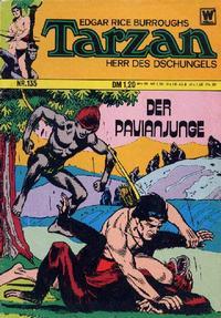 Cover Thumbnail for Tarzan (BSV - Williams, 1965 series) #135