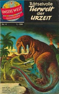 Cover Thumbnail for Unsere Welt Illustrierte (BSV - Williams, 1962 series) #4