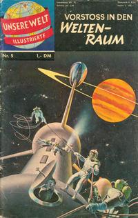Cover Thumbnail for Unsere Welt Illustrierte (BSV - Williams, 1962 series) #5