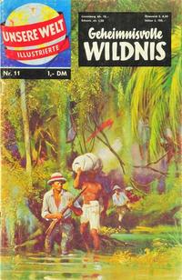 Cover Thumbnail for Unsere Welt Illustrierte (BSV - Williams, 1962 series) #11