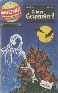Cover Thumbnail for Unsere Welt Illustrierte (BSV - Williams, 1962 series) #13
