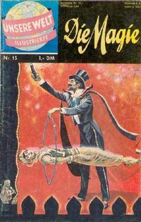 Cover Thumbnail for Unsere Welt Illustrierte (BSV - Williams, 1962 series) #15