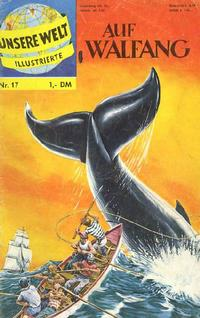 Cover Thumbnail for Unsere Welt Illustrierte (BSV - Williams, 1962 series) #17