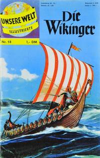 Cover Thumbnail for Unsere Welt Illustrierte (BSV - Williams, 1962 series) #18