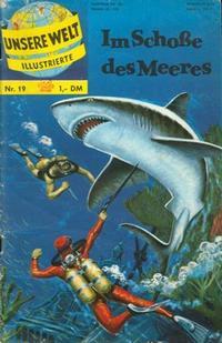 Cover Thumbnail for Unsere Welt Illustrierte (BSV - Williams, 1962 series) #19