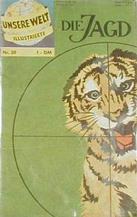 Cover Thumbnail for Unsere Welt Illustrierte (BSV - Williams, 1962 series) #20