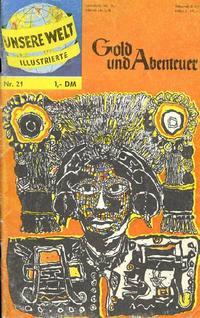 Cover Thumbnail for Unsere Welt Illustrierte (BSV - Williams, 1962 series) #21