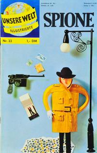 Cover Thumbnail for Unsere Welt Illustrierte (BSV - Williams, 1962 series) #22