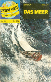 Cover Thumbnail for Unsere Welt Illustrierte (BSV - Williams, 1962 series) #28