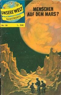 Cover Thumbnail for Unsere Welt Illustrierte (BSV - Williams, 1962 series) #30