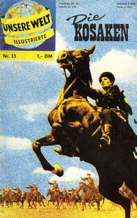 Cover Thumbnail for Unsere Welt Illustrierte (BSV - Williams, 1962 series) #33