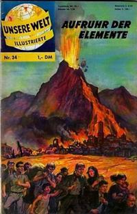 Cover Thumbnail for Unsere Welt Illustrierte (BSV - Williams, 1962 series) #34