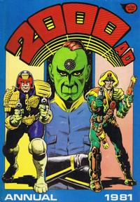 Cover Thumbnail for 2000 AD Annual (Fleetway Publications, 1978 series) #1981