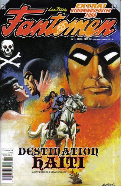Cover for Fantomen (Egmont, 1997 series) #1/2009