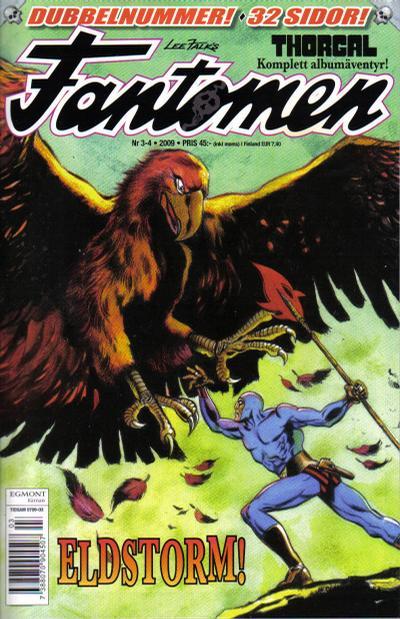 Cover for Fantomen (Egmont, 1997 series) #3-4/2009