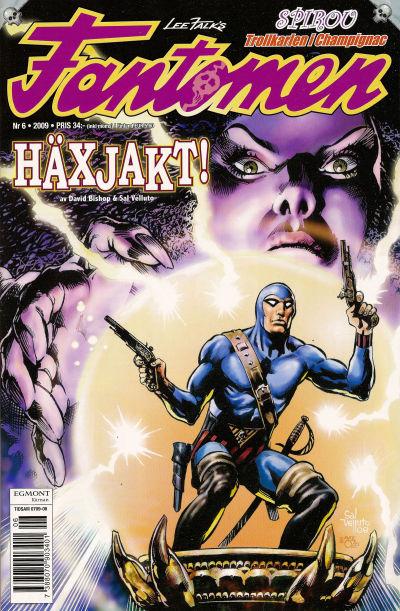 Cover for Fantomen (Egmont, 1997 series) #6/2009