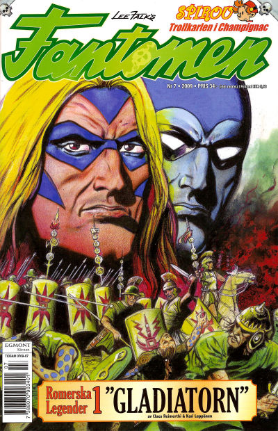 Cover for Fantomen (Egmont, 1997 series) #7/2009