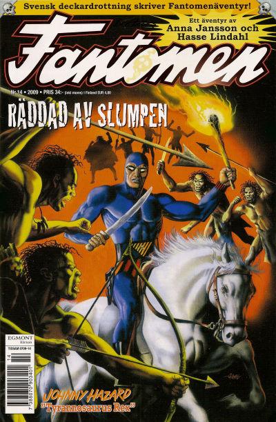 Cover for Fantomen (Egmont, 1997 series) #14/2009
