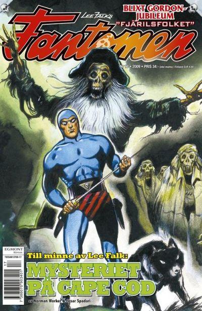 Cover for Fantomen (Egmont, 1997 series) #17/2009