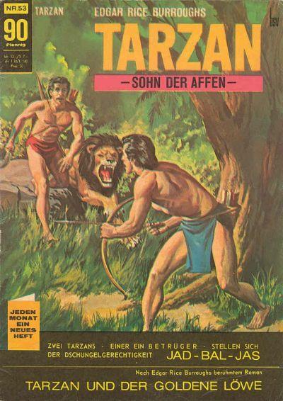 Cover for Tarzan (BSV - Williams, 1965 series) #53