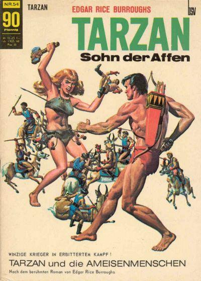 Cover for Tarzan (BSV - Williams, 1965 series) #54