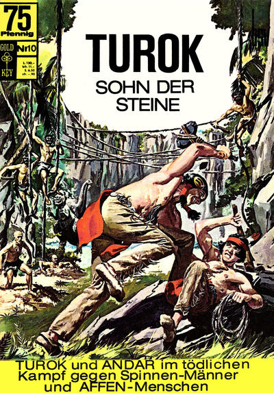 Cover for Turok (BSV - Williams, 1967 series) #10