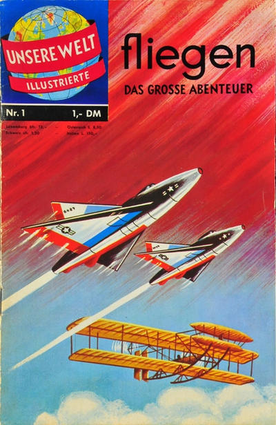 Cover for Unsere Welt Illustrierte (BSV - Williams, 1962 series) #1