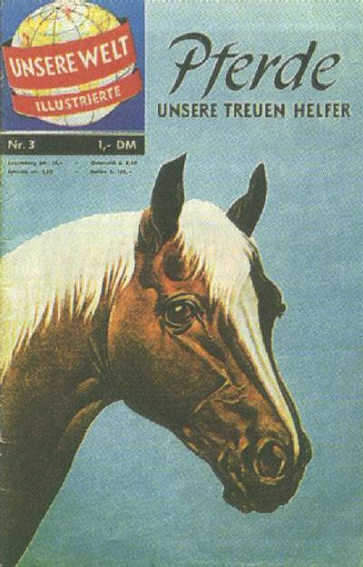 Cover for Unsere Welt Illustrierte (BSV - Williams, 1962 series) #3