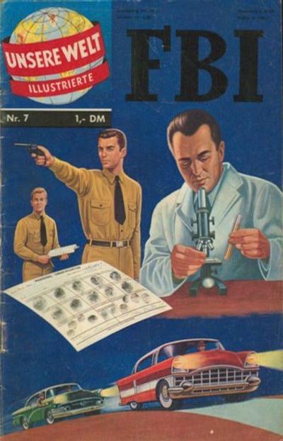 Cover for Unsere Welt Illustrierte (BSV - Williams, 1962 series) #7