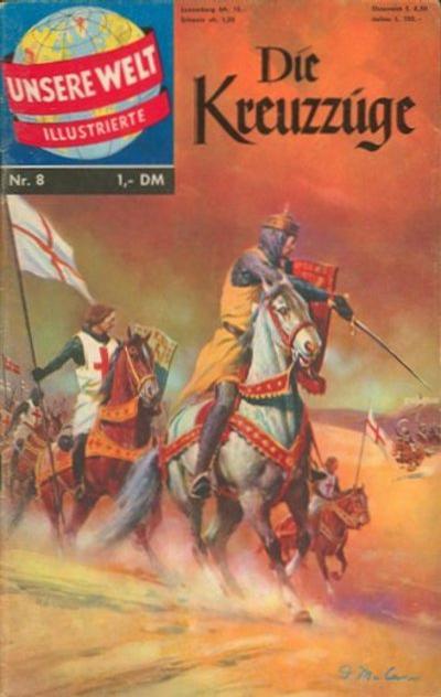 Cover for Unsere Welt Illustrierte (BSV - Williams, 1962 series) #8