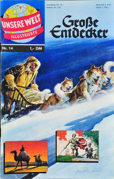 Cover for Unsere Welt Illustrierte (BSV - Williams, 1962 series) #14