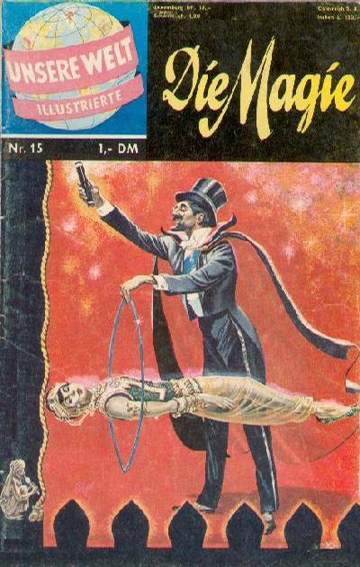 Cover for Unsere Welt Illustrierte (BSV - Williams, 1962 series) #15